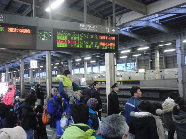 JR越後湯沢駅 新幹線ホーム