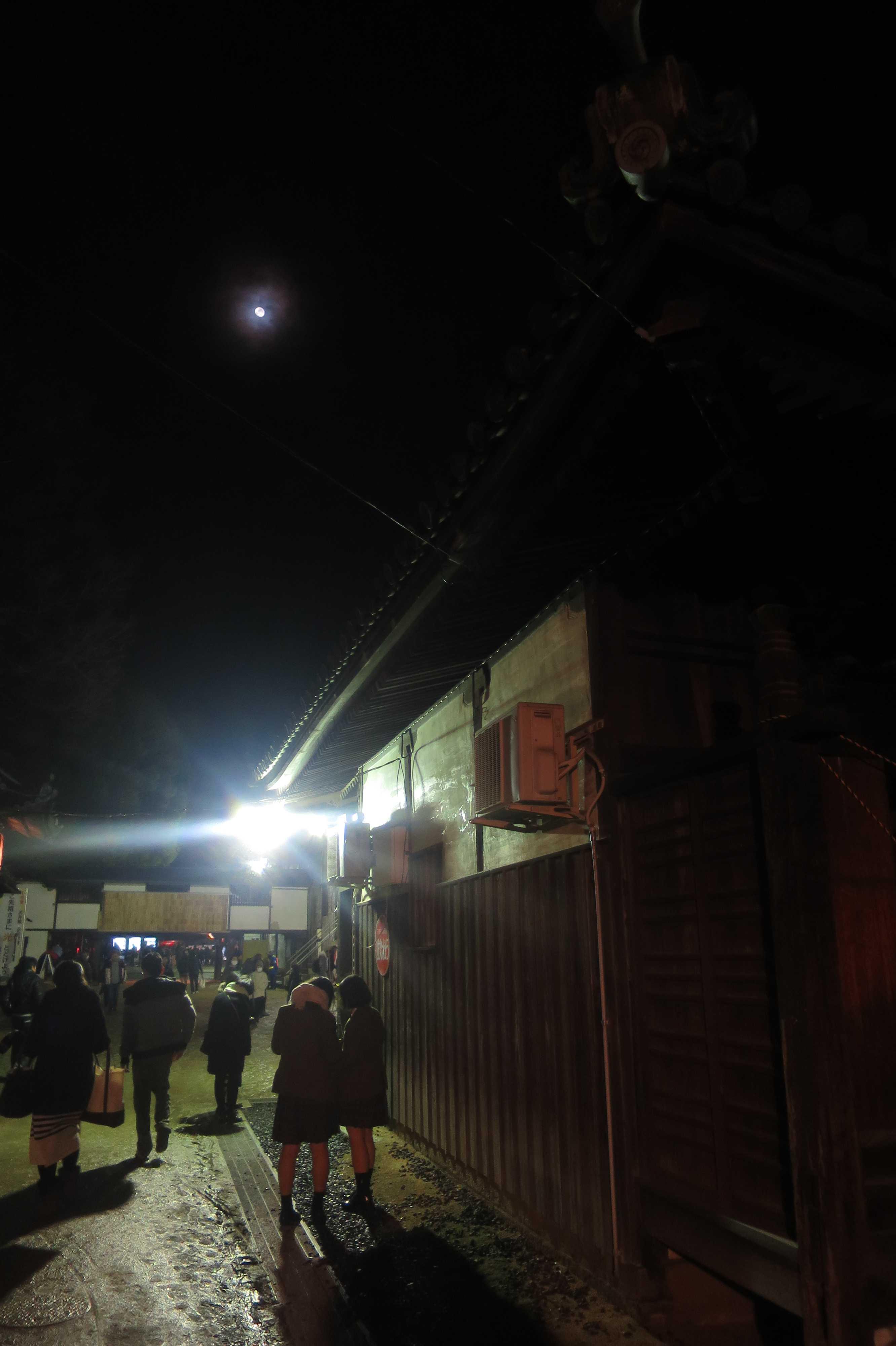 西大寺 - 月が照らす人間たちを