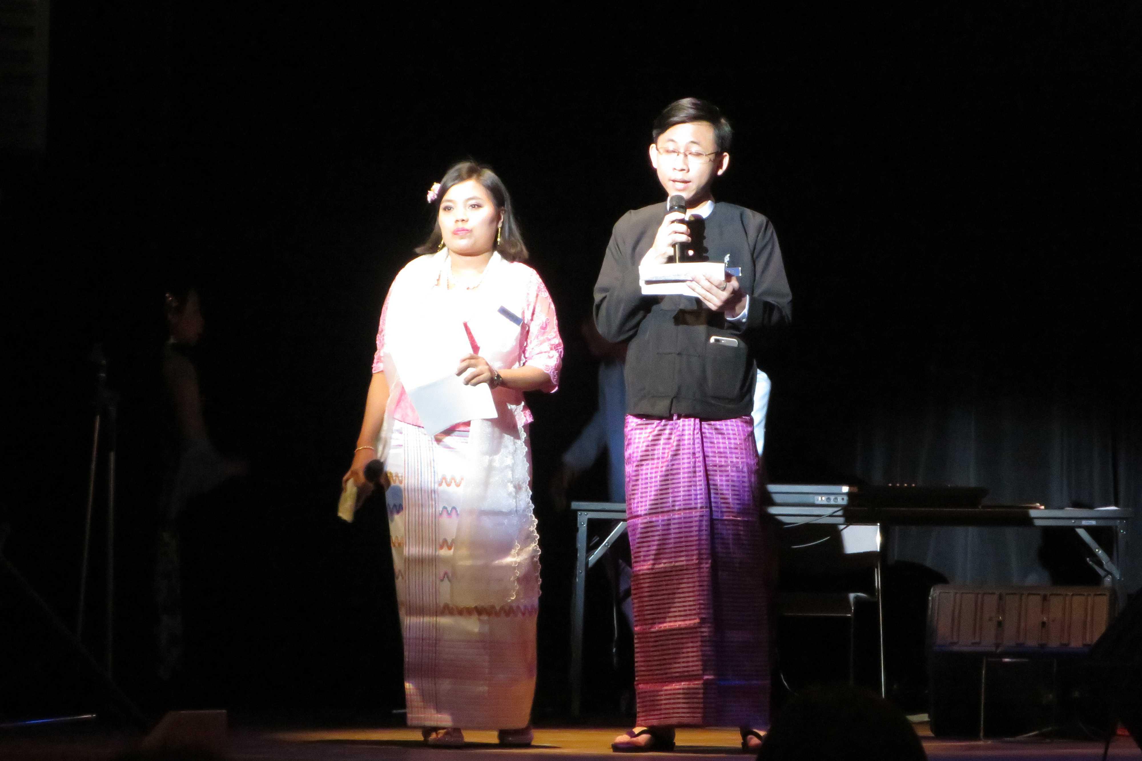 司会 - ミャンマー祭り2016