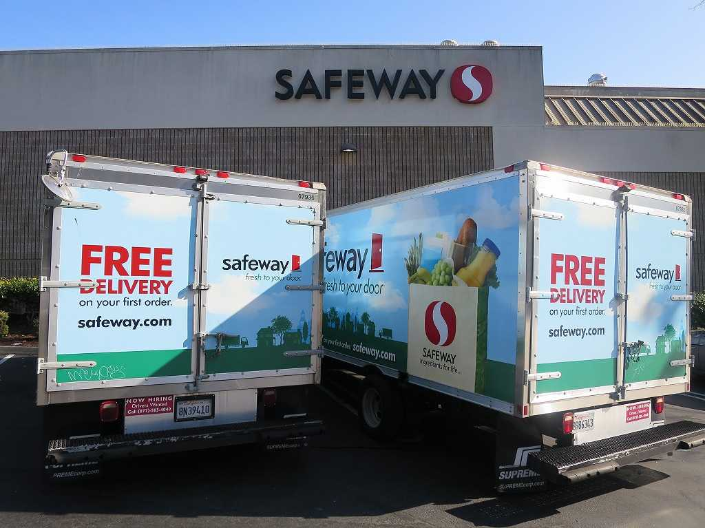 サンフランシスコのSAFEWAY - FREE DELIVERY on your first order
