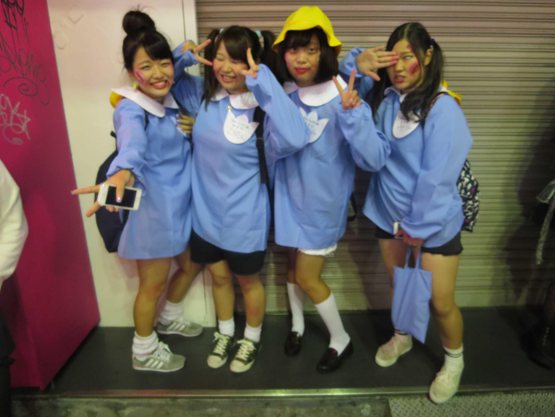 渋谷ハロウィン - 幼稚園児