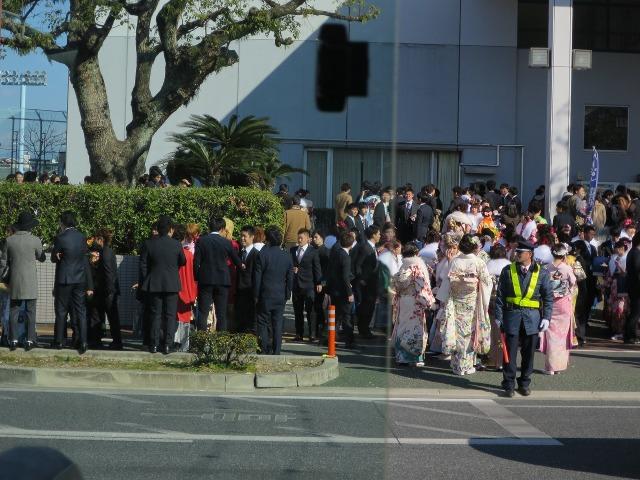 高知市の成人式会場