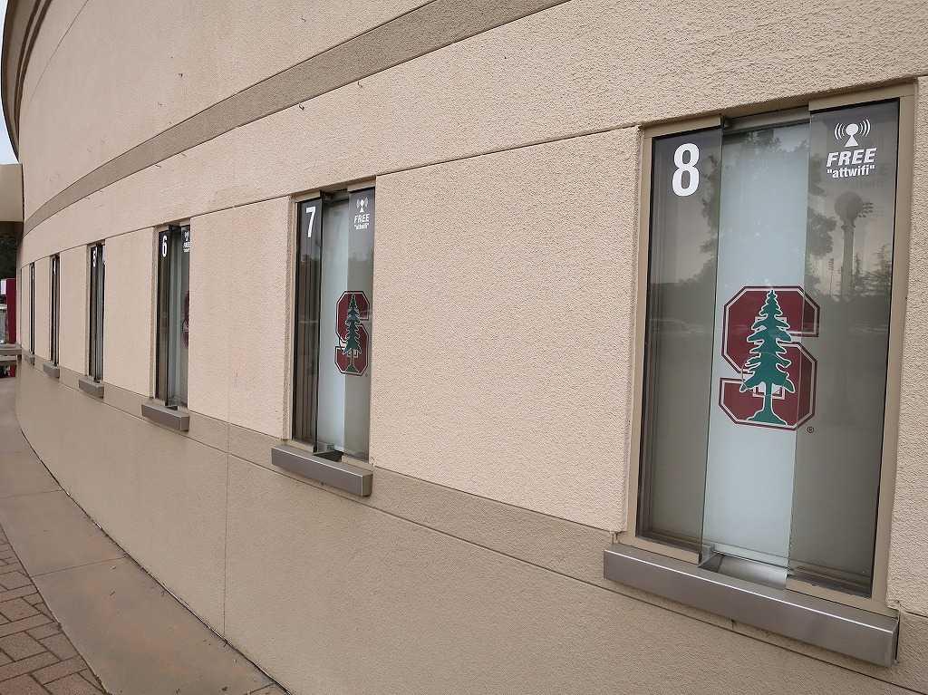 スタンフォード・スタジアム(Stanford Stadium)のチケットカウンター