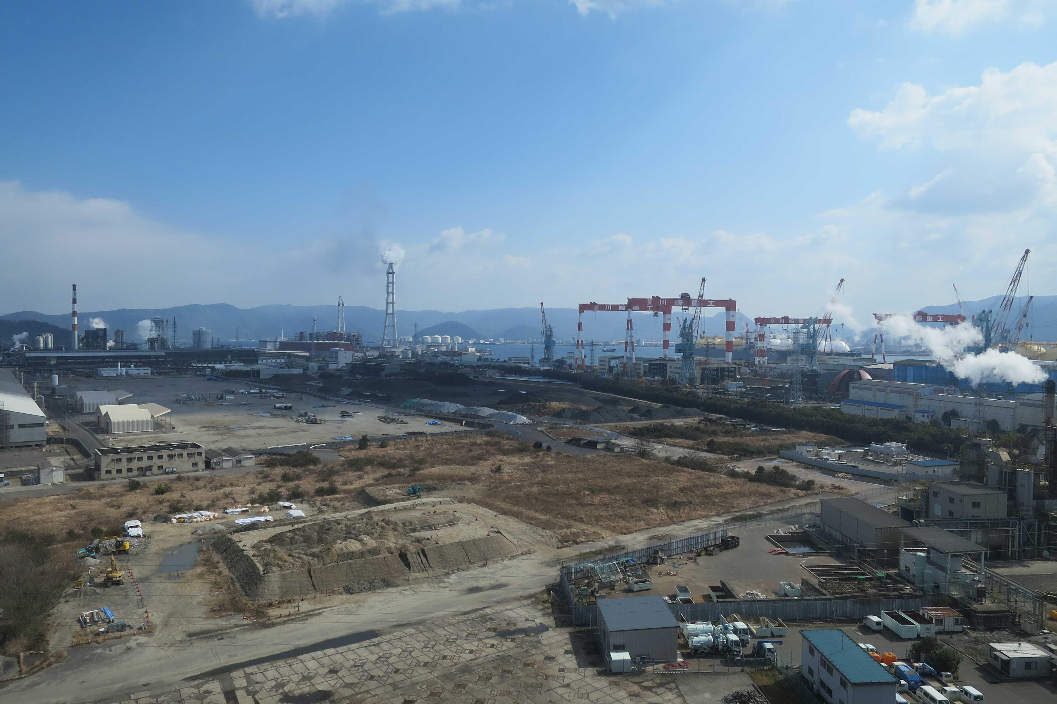 坂出 - 番の州臨海工業団地