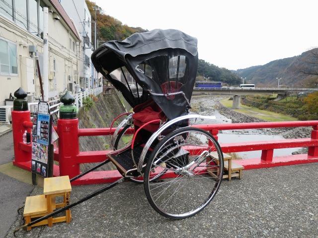 箱根湯本の人力車
