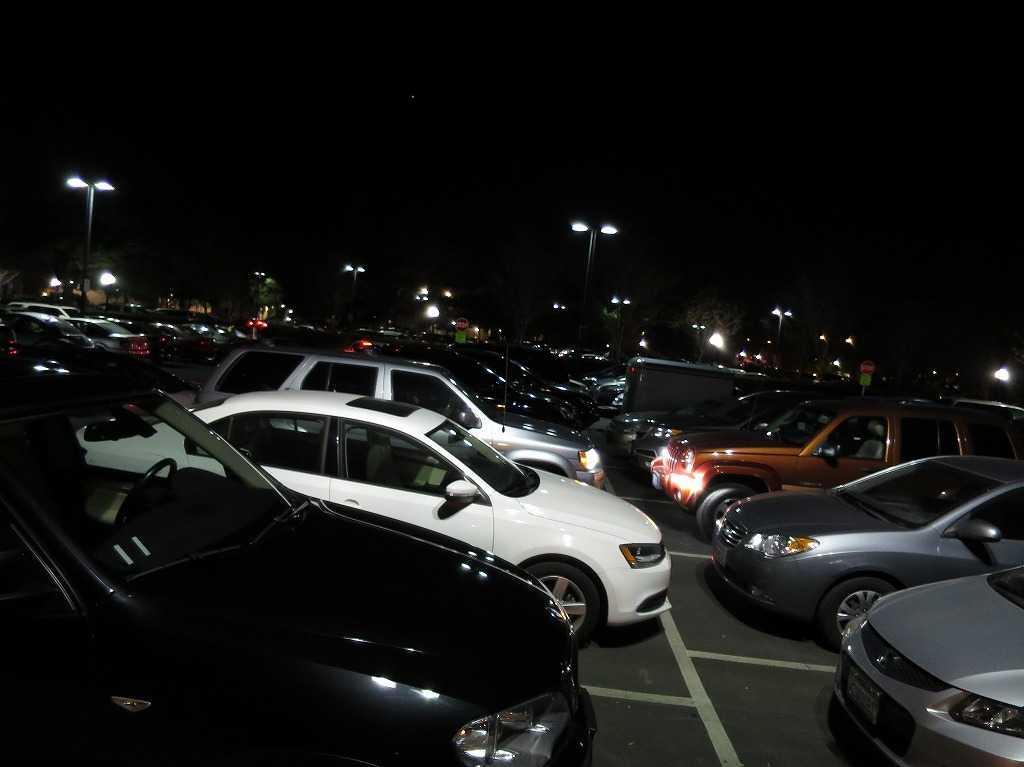 スタンフォード大学の駐車場