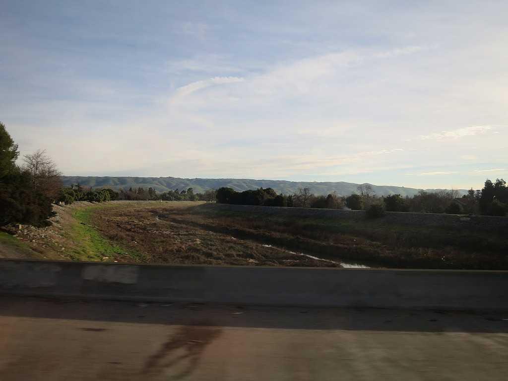 グレイハウンドバス - シリコンバレー(車窓)