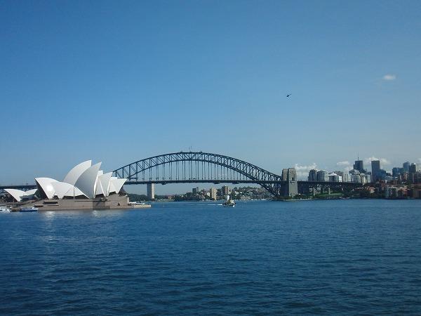 オーストラリア・シドニー オペラハウス(Opera House)とハーバーブリッジ(Harbour Bridge)