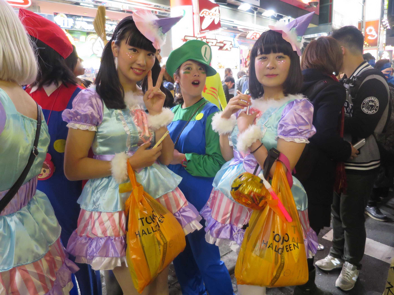渋谷ハロウィン - 可愛い女の子