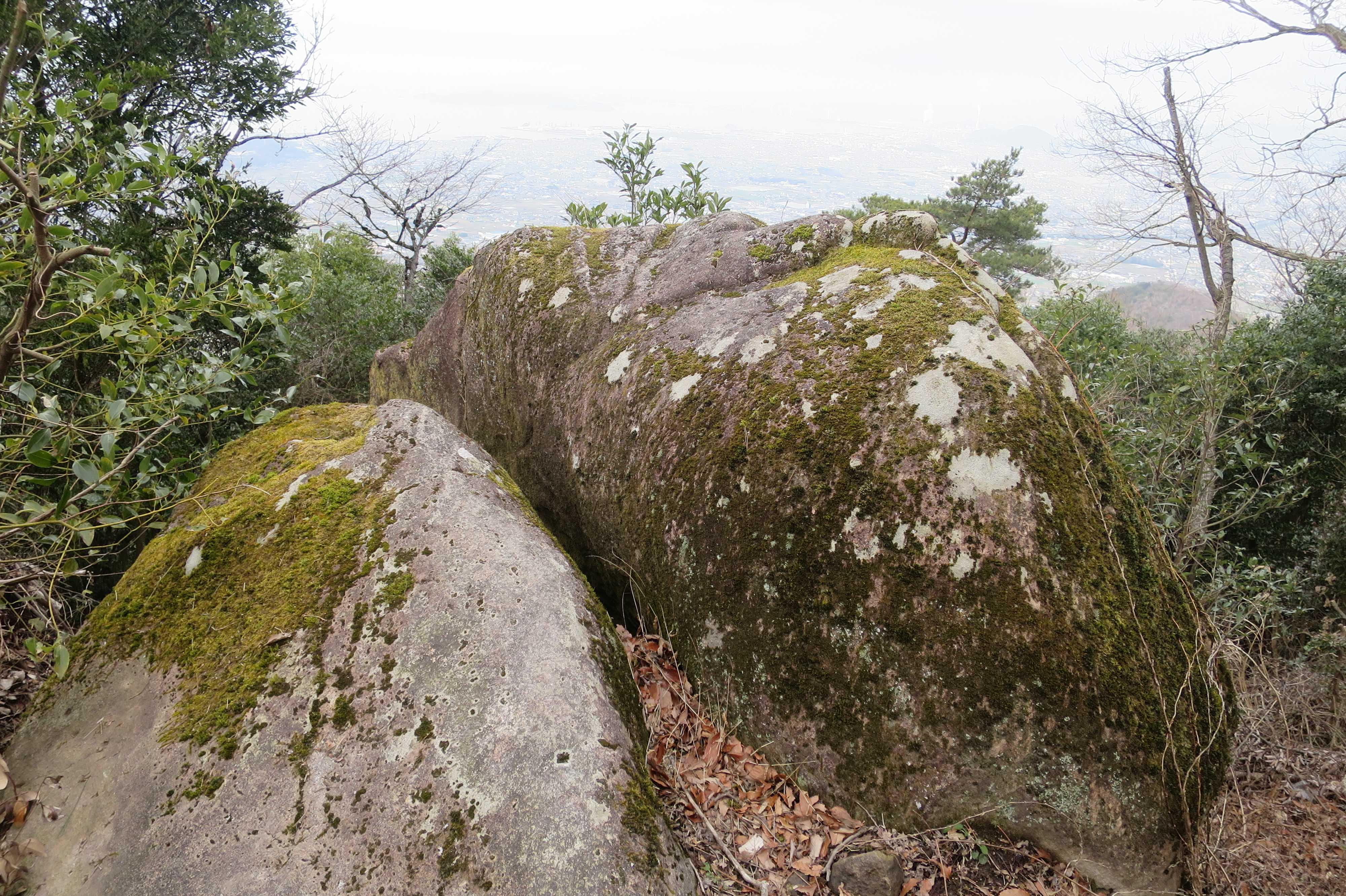 香川・我拝師山の頂上
