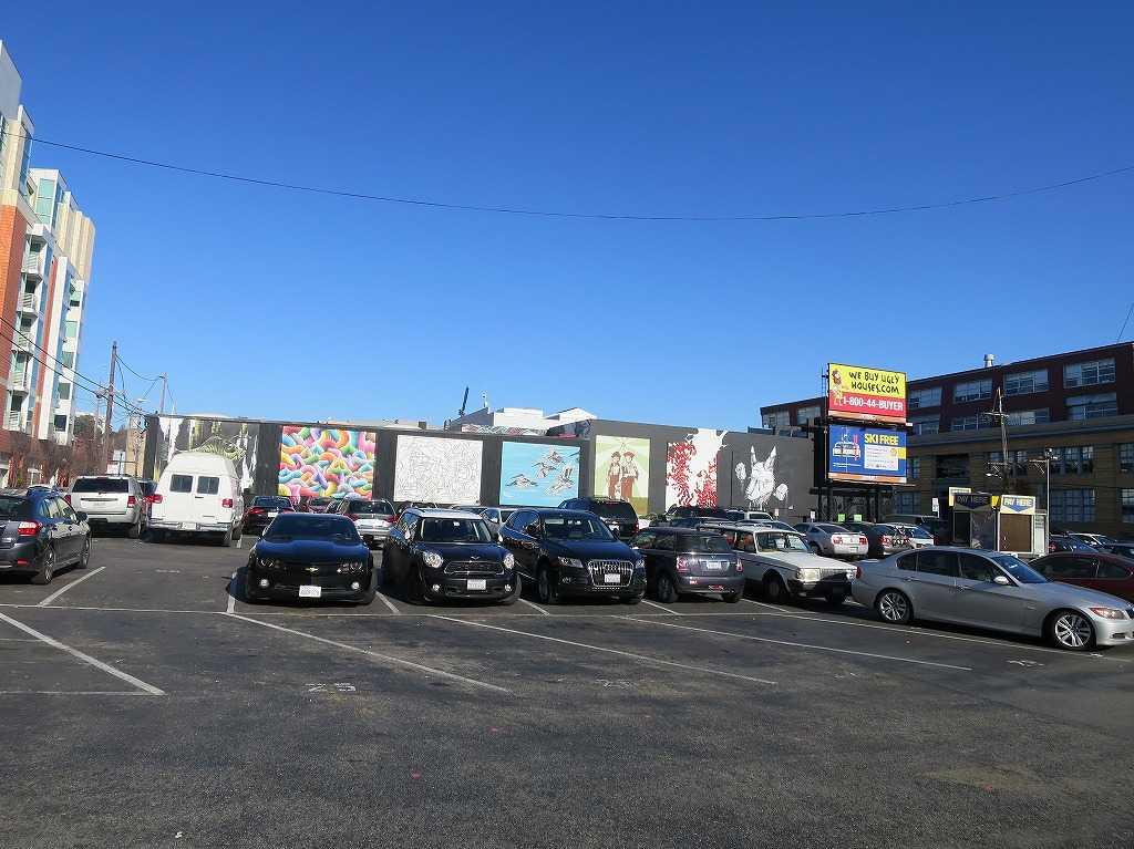 サンフランシスコ - 駐車場