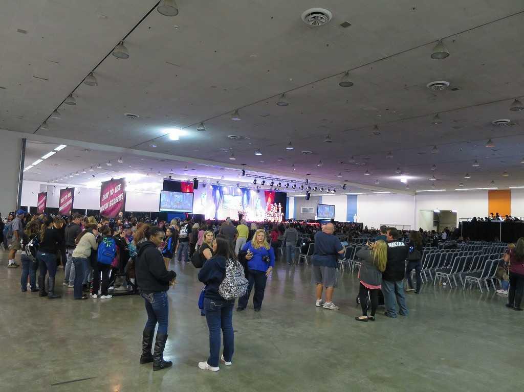 チアリーティング大会「アメリカン・マスターピース」の会場
