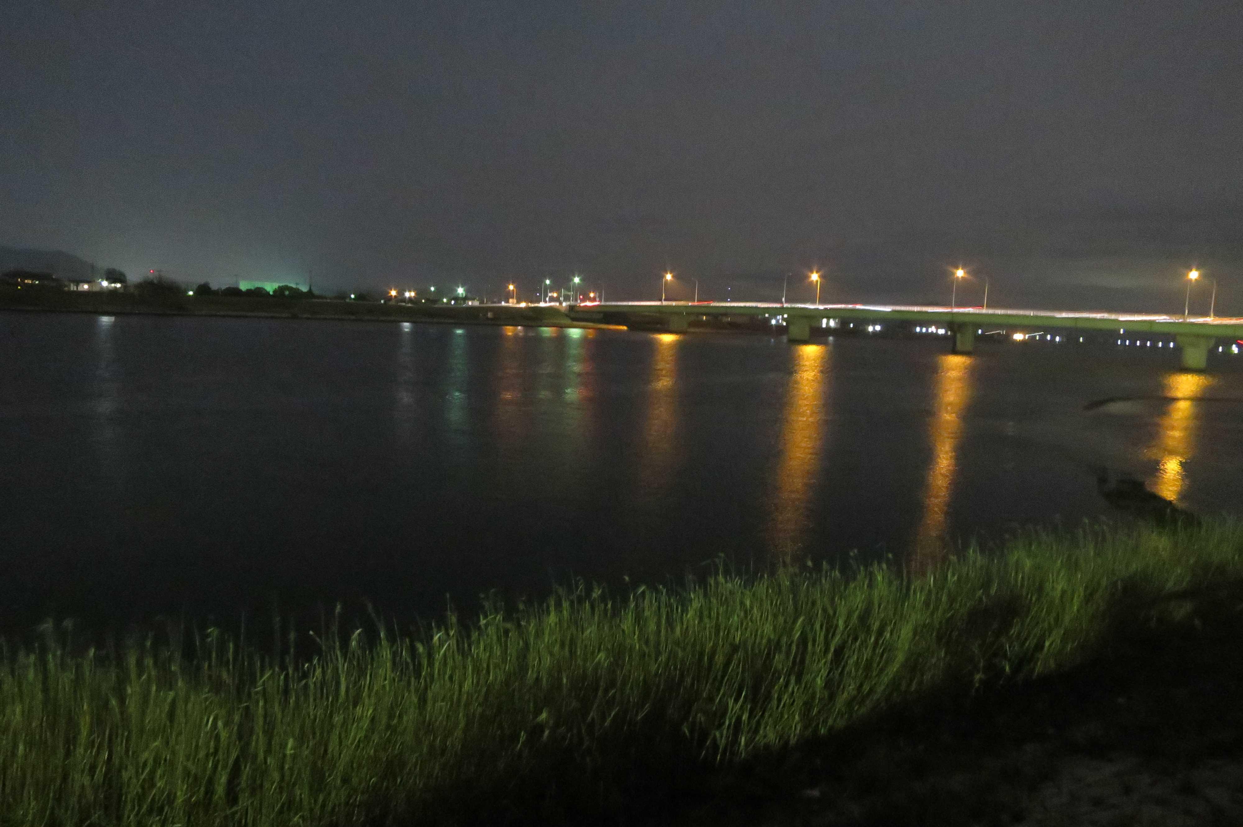 西大寺会陽 - 吉井川と永安橋