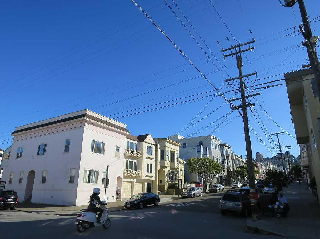 サンフランシスコの青空