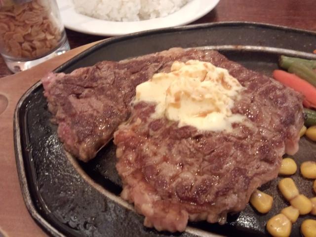 紅矢のステーキ
