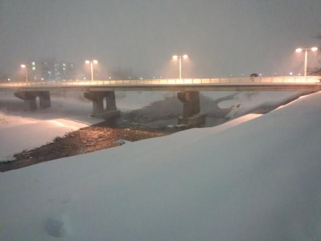 暁橋の全景(八王子市暁町)