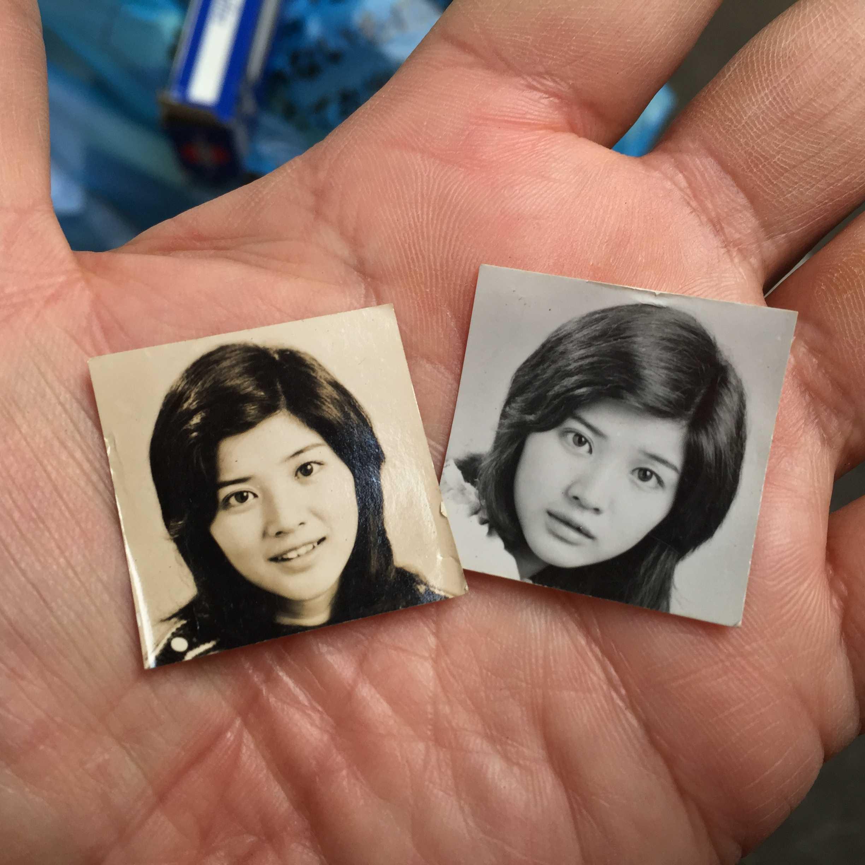 桜田淳子のプロマイド写真