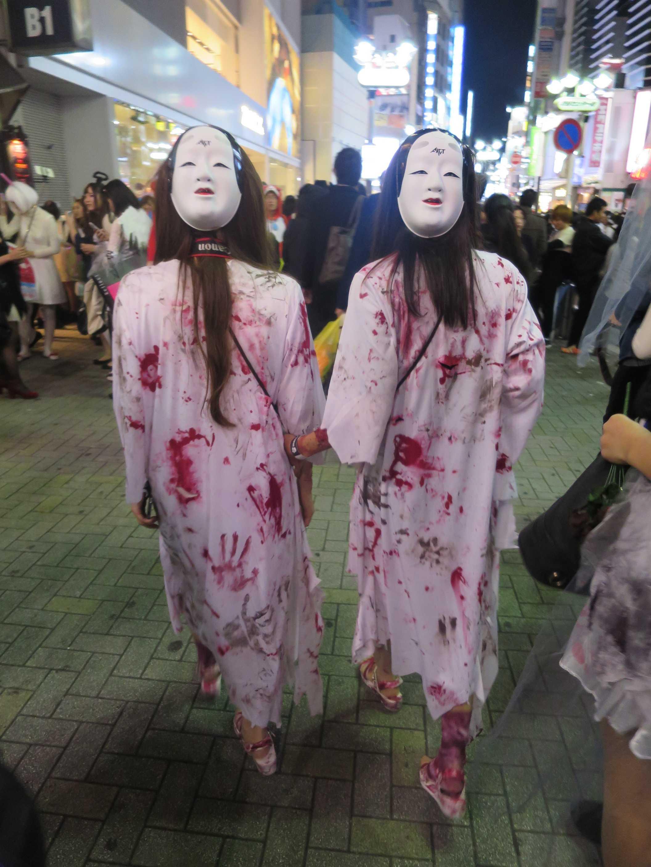 渋谷ハロウィン - 怖っ