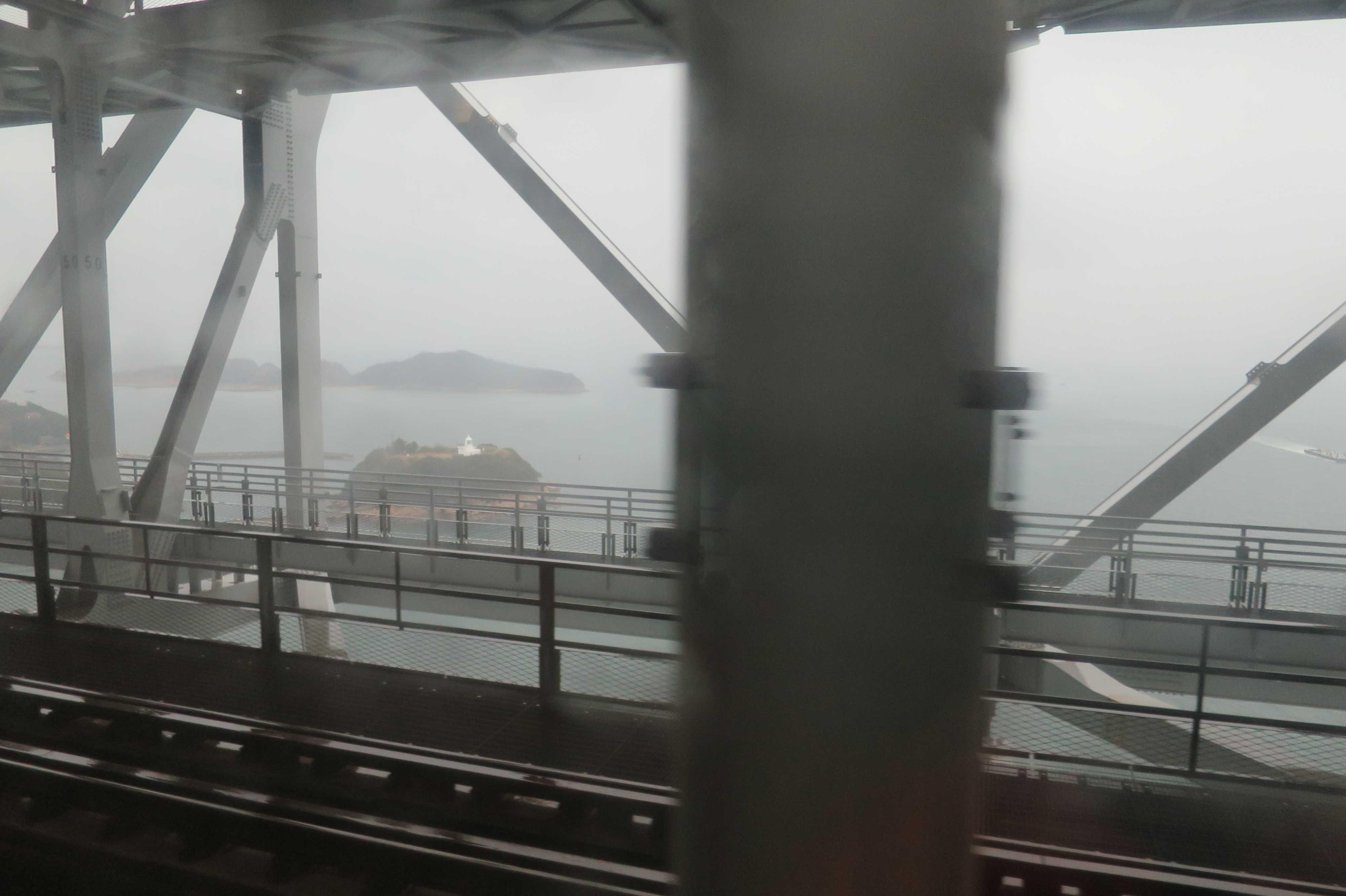 瀬戸大橋からの眺め