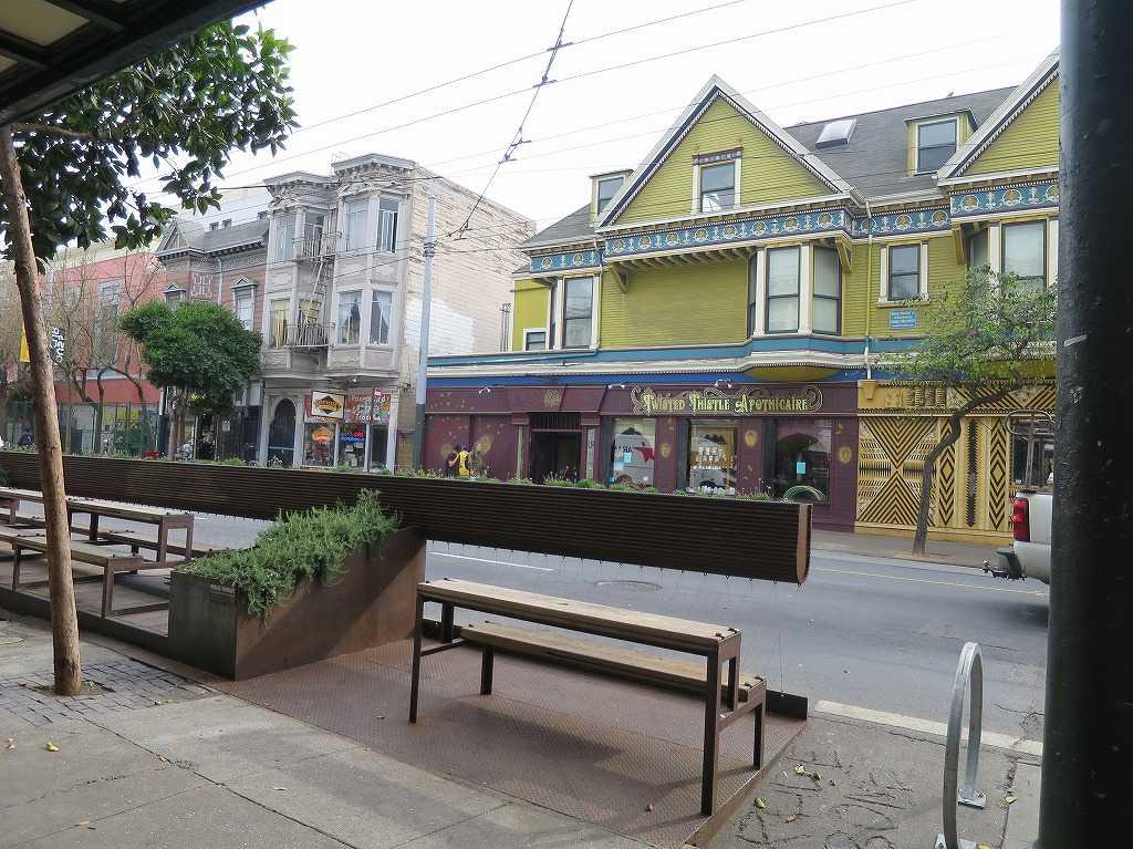 ヘイトアシュベリー - ヘイト通り(Haight Street)
