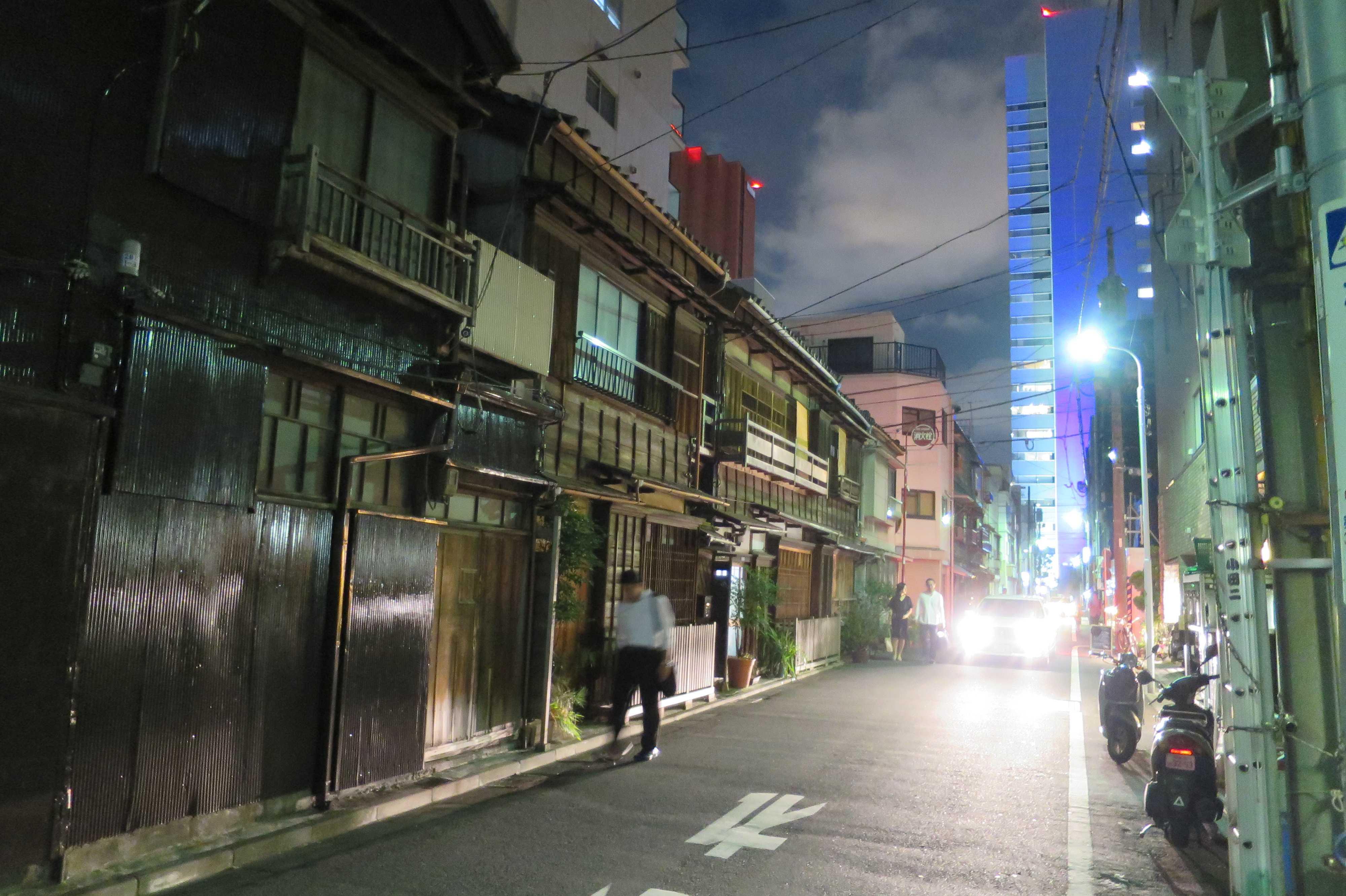 築地エリア - 危機遺産「東京都中央区築地の近代の木造建築群」
