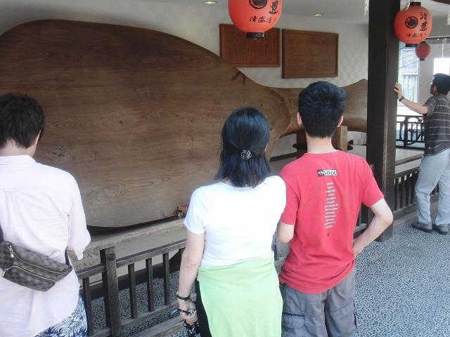 厳島神社の巨大しゃもじ