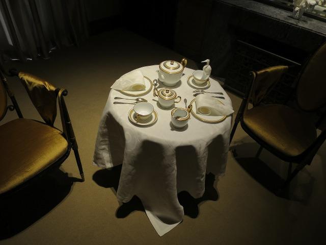 旧朝香宮邸の食器