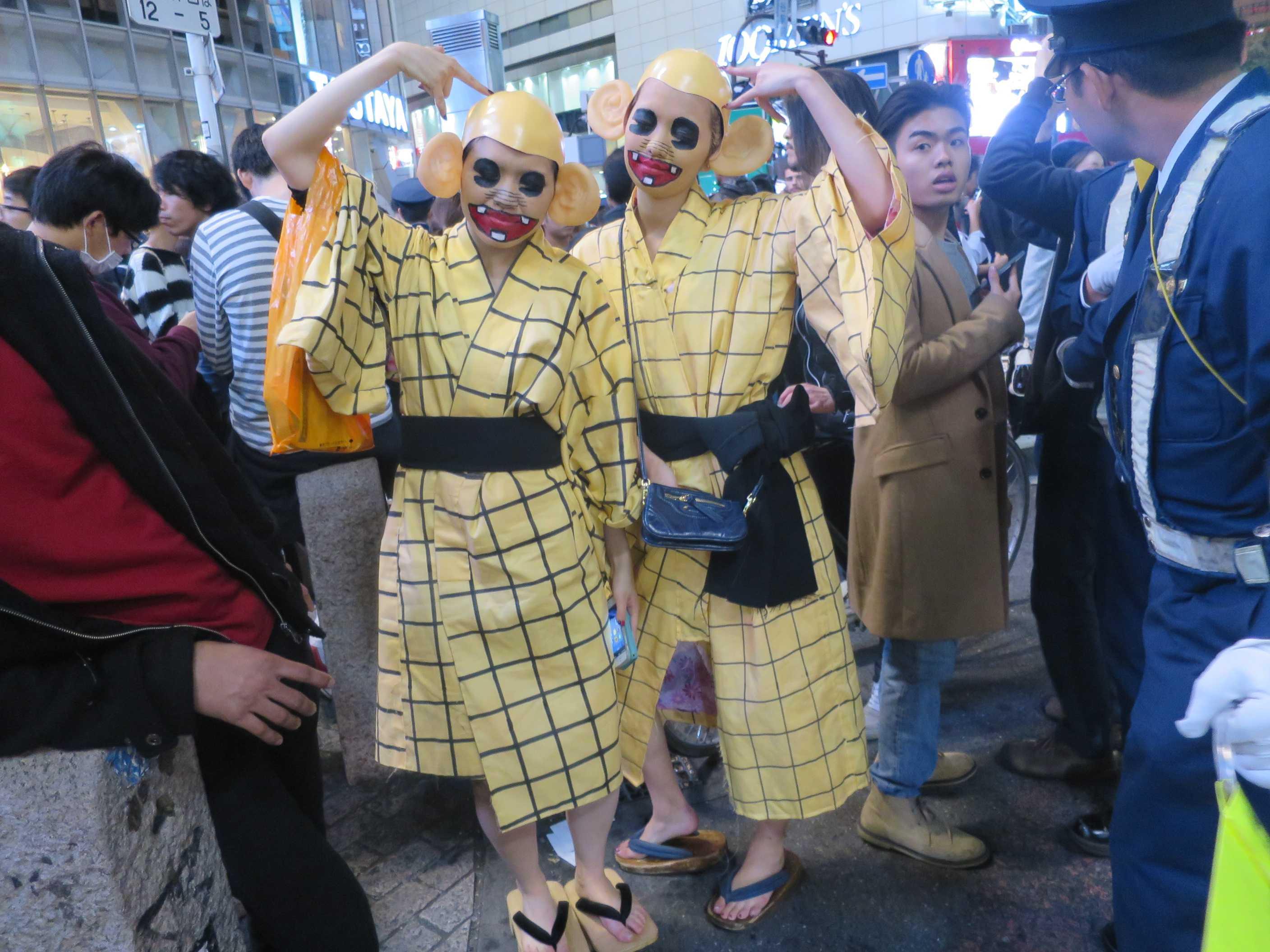 渋谷ハロウィーン - 天才バカボンのレレレのおじさん