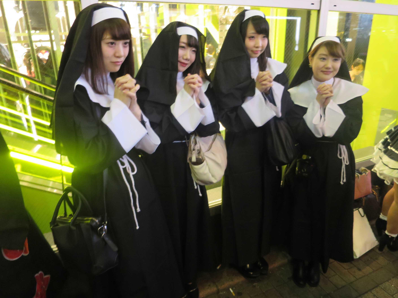 渋谷ハロウィン - 修道女