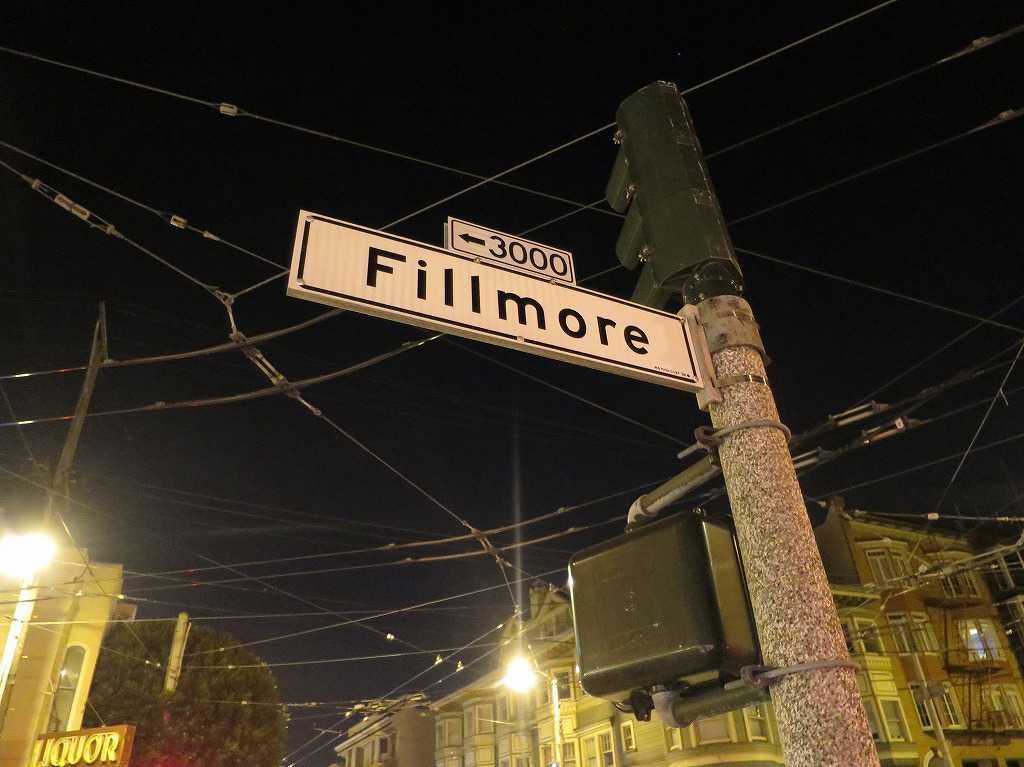 サンフランシスコ - フィルモア・ストリート(Fillmore Street)
