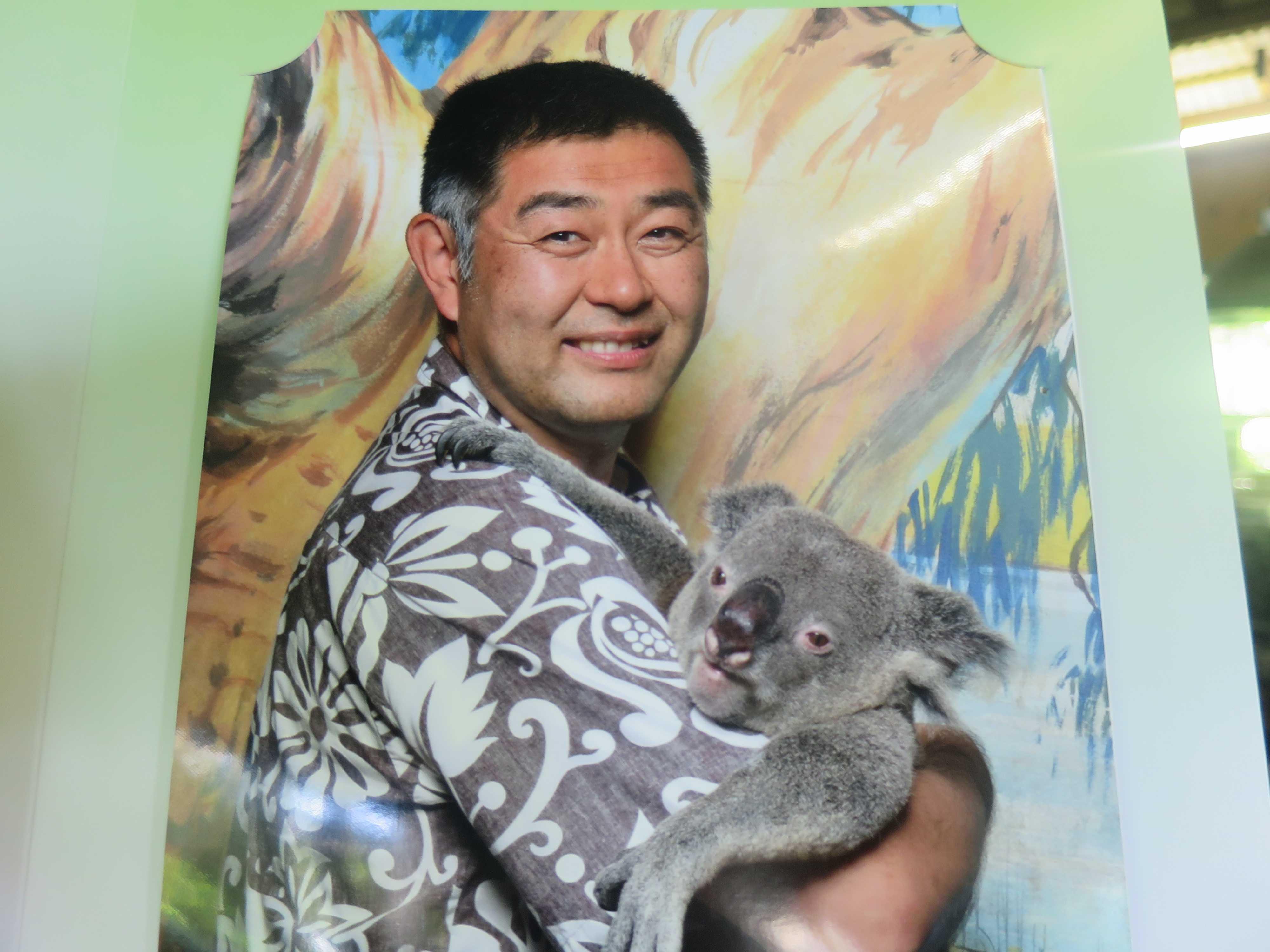 ケアンズトロピカルズー(ケアンズ動物園): コアラ抱っこ