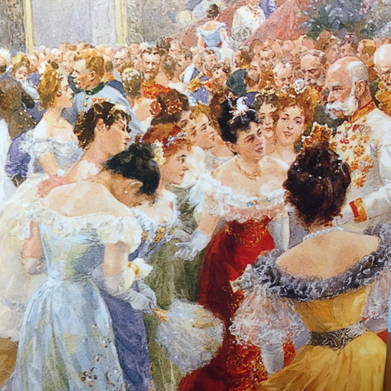 ウィーンの社交界(舞踏会)