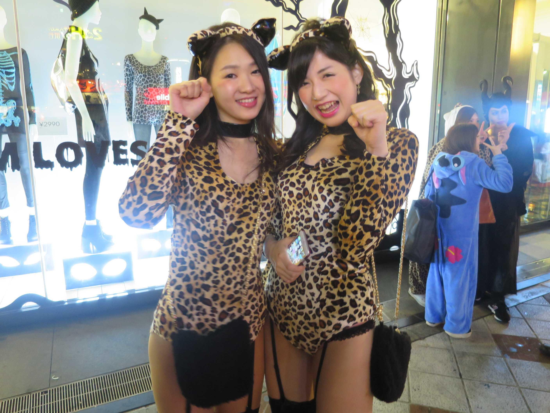 渋谷ハロウィーン - 女豹コス