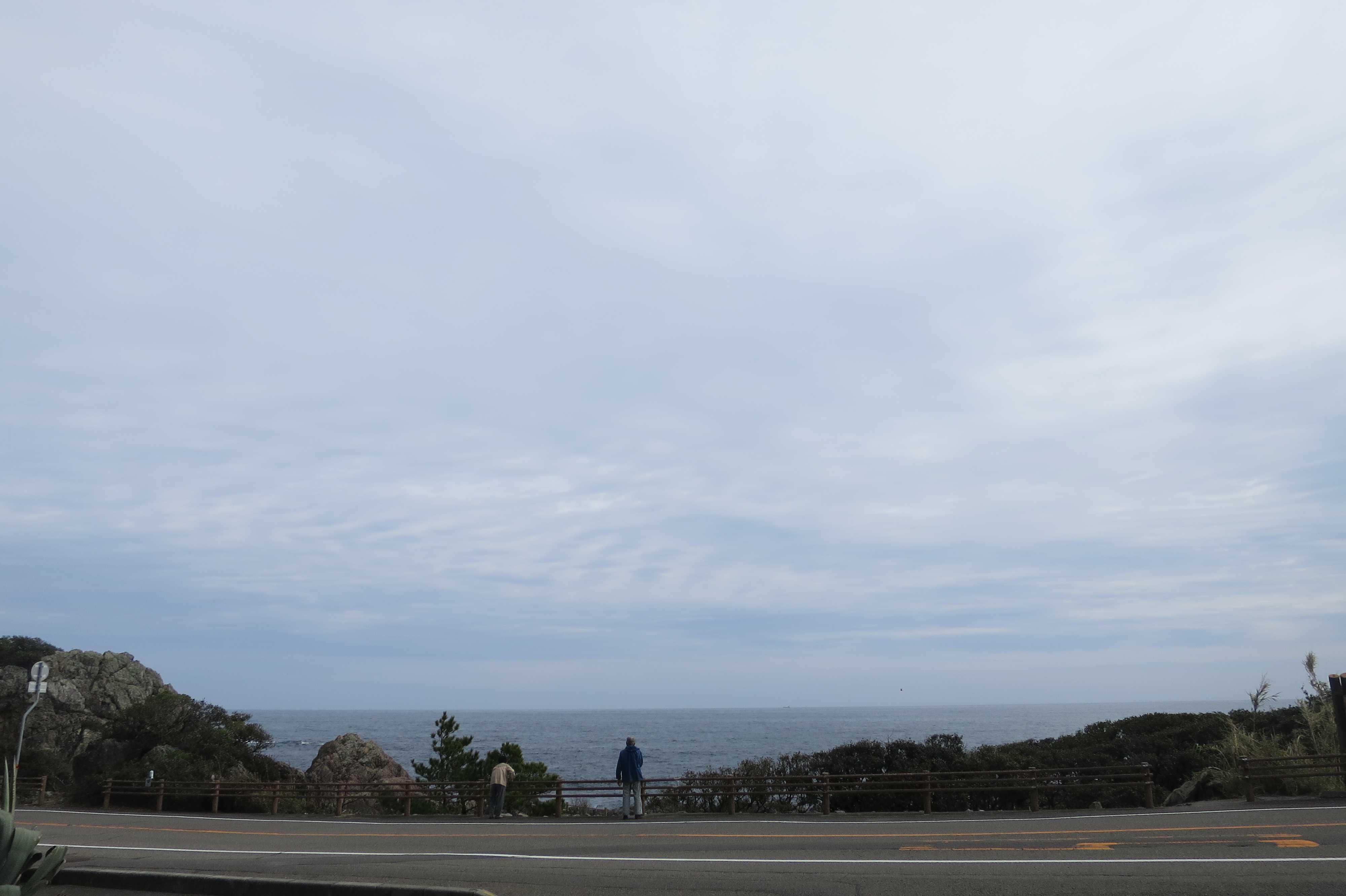 「空」と「海」 - 室戸