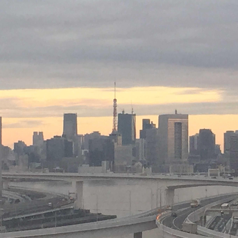 東京ベイコート倶楽部から見える東京タワー