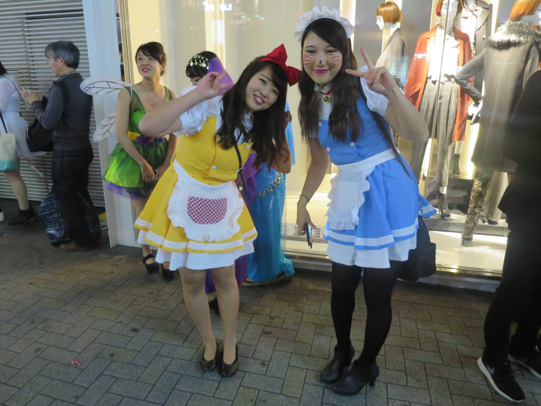 渋谷ハロウィン - かわいい女の子