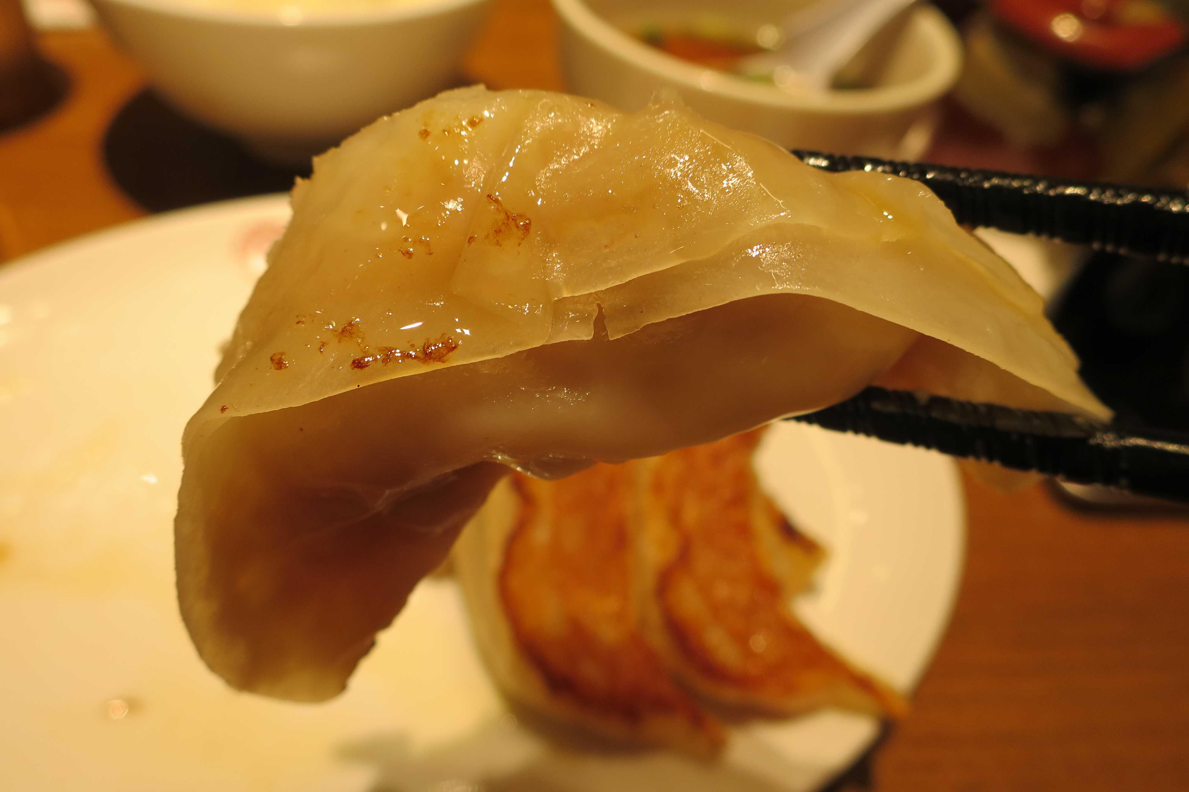 大阪王将・道頓堀本店の焼餃子(ギョウザ)
