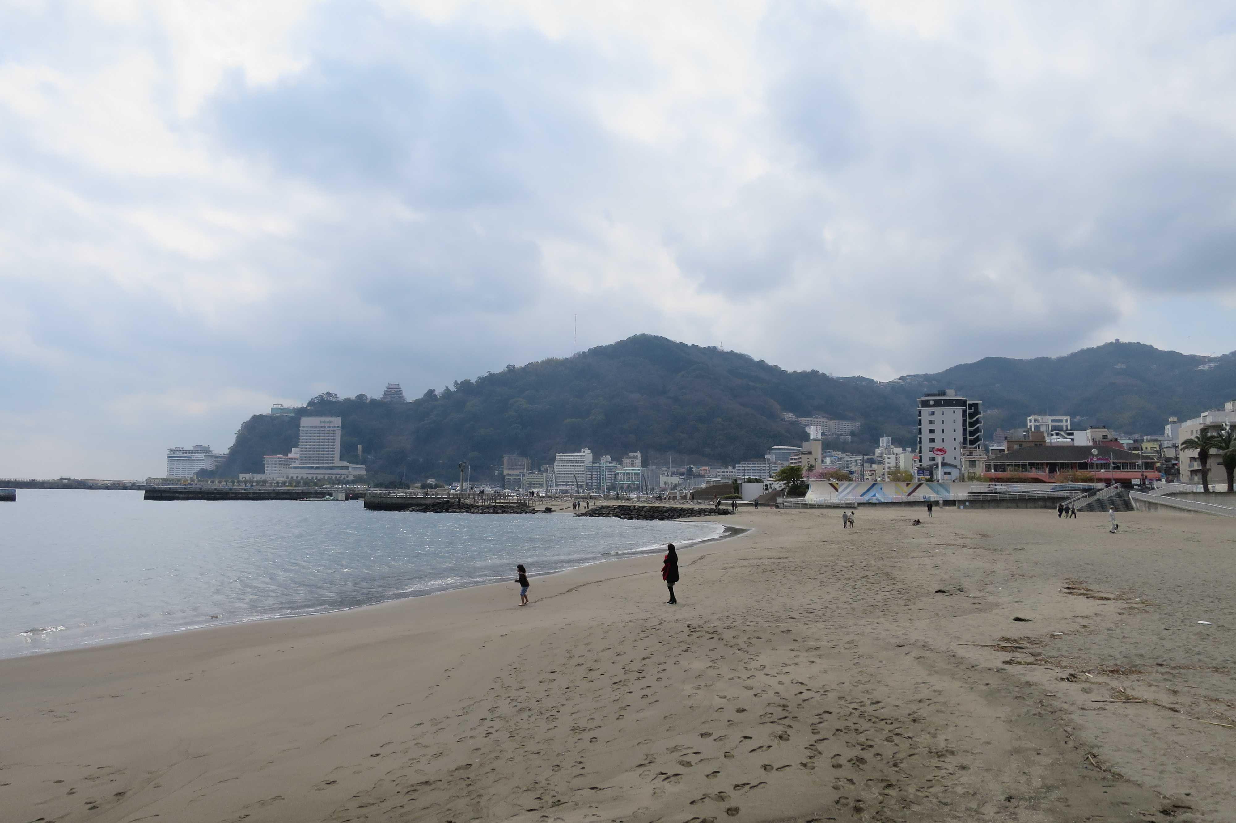 熱海サンビーチを散歩/散策
