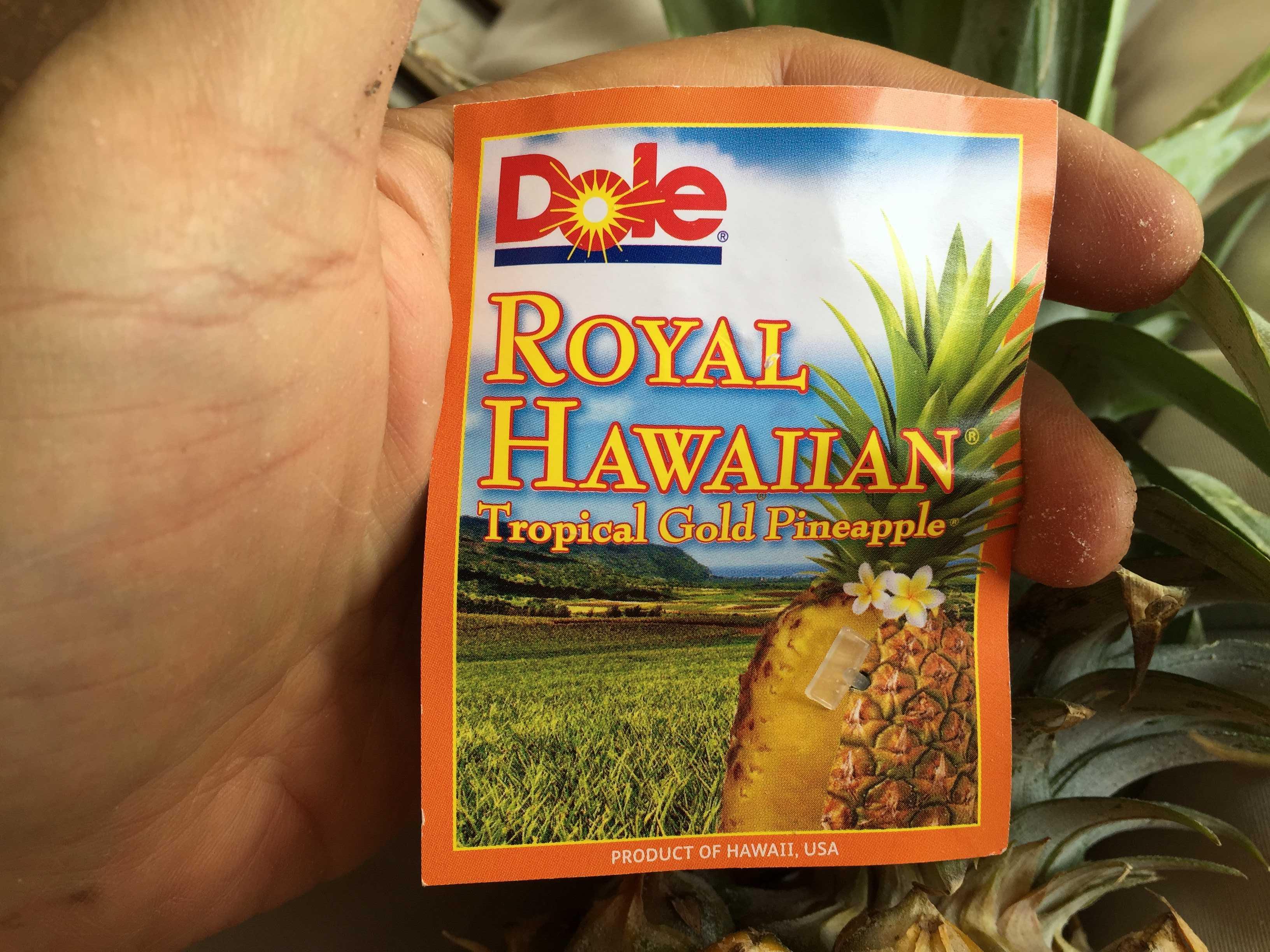 Dole(ドール) ROYAL HAWAIIAN Tropical Gold Pineapple