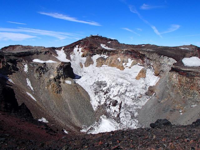 富士山 噴火口(山頂火口)