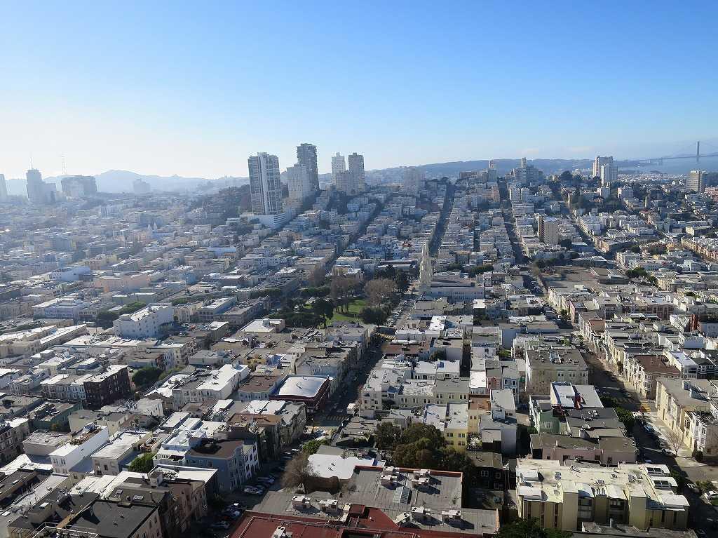 碁盤のような街・サンフランシスコ