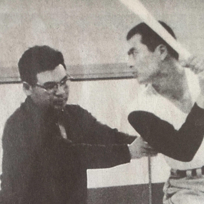 故・荒川博コーチと王貞治選手