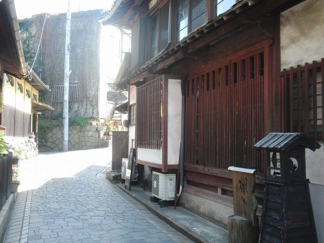 鞆の石畳の道