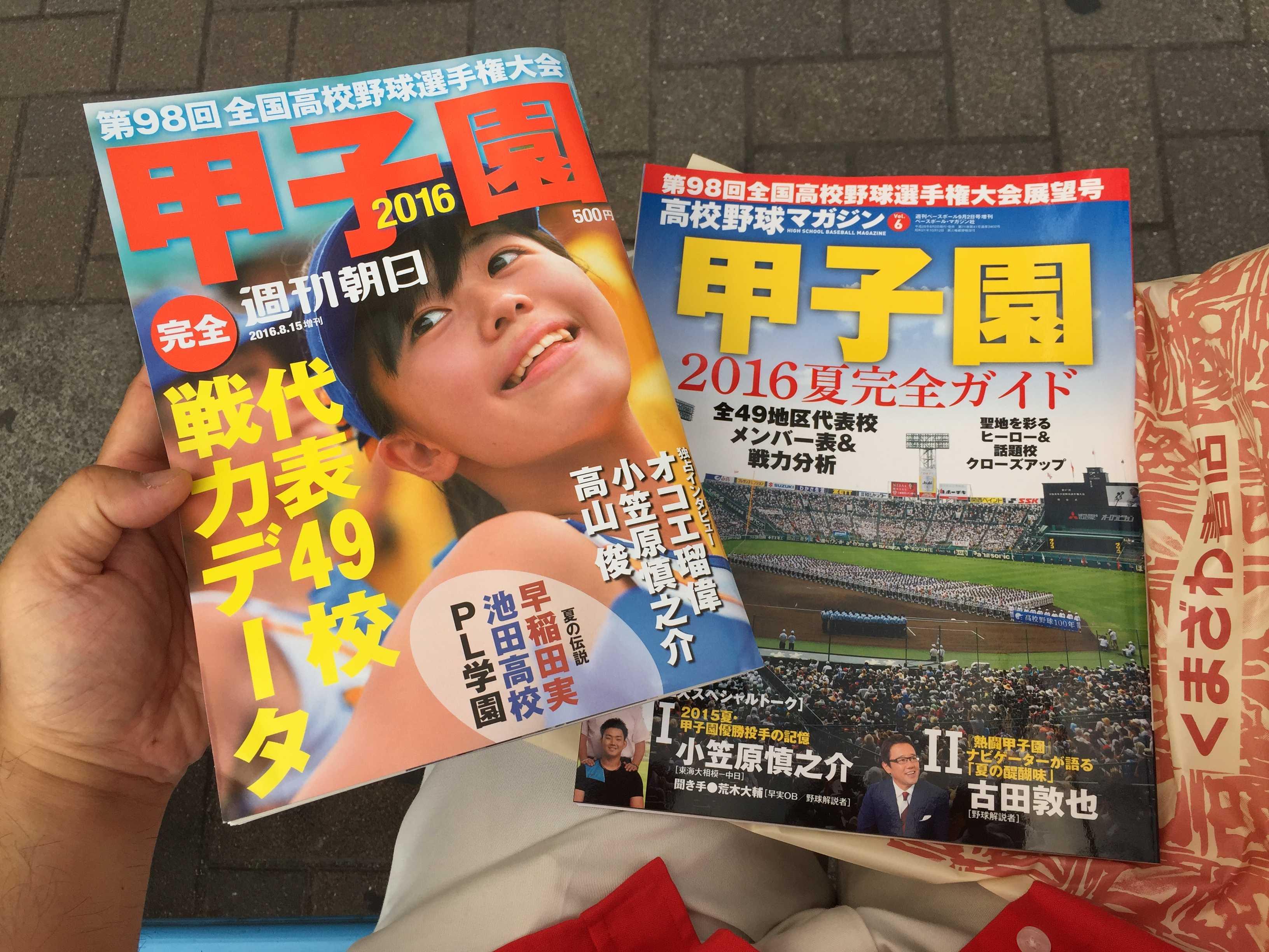 ベースボールマガジン社の「高校野球マガジン 甲子園 2016夏完全ガイド」