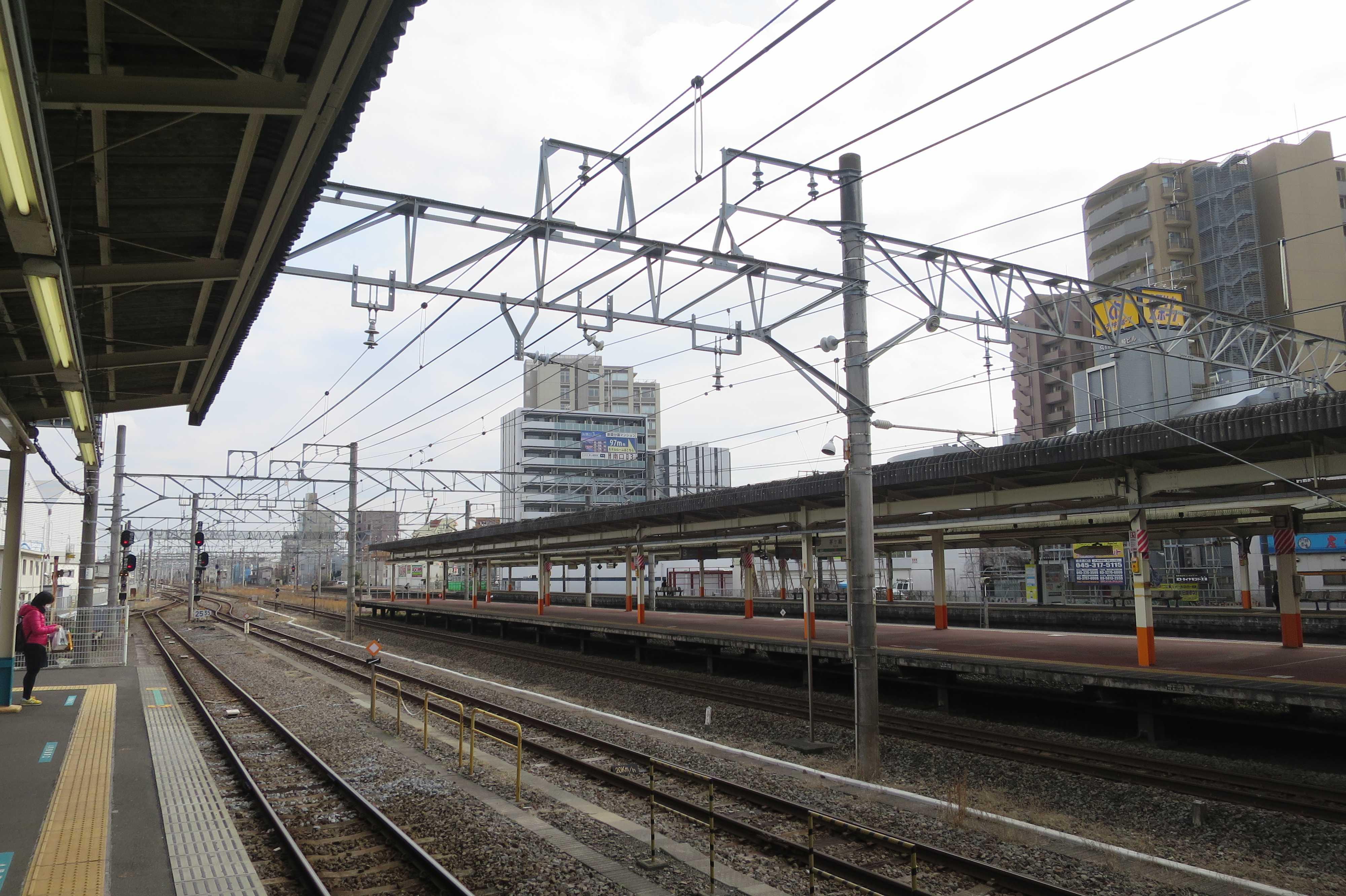 JR茅ヶ崎駅ホーム