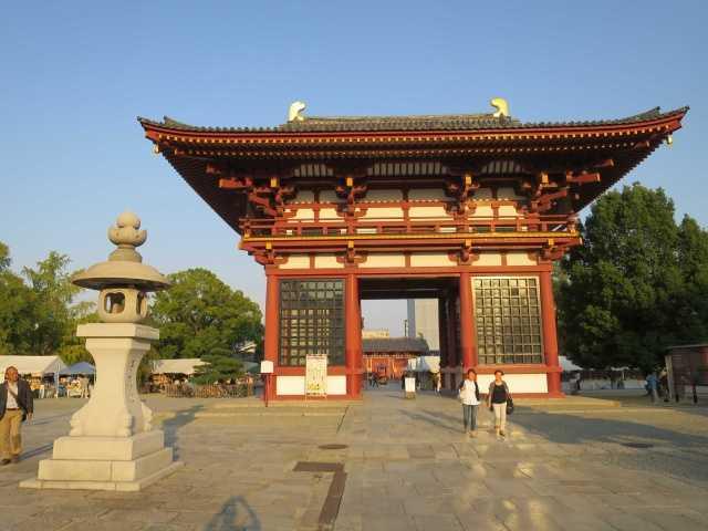 大阪: 四天王寺 - 一遍上人が「賦算」を開始した寺