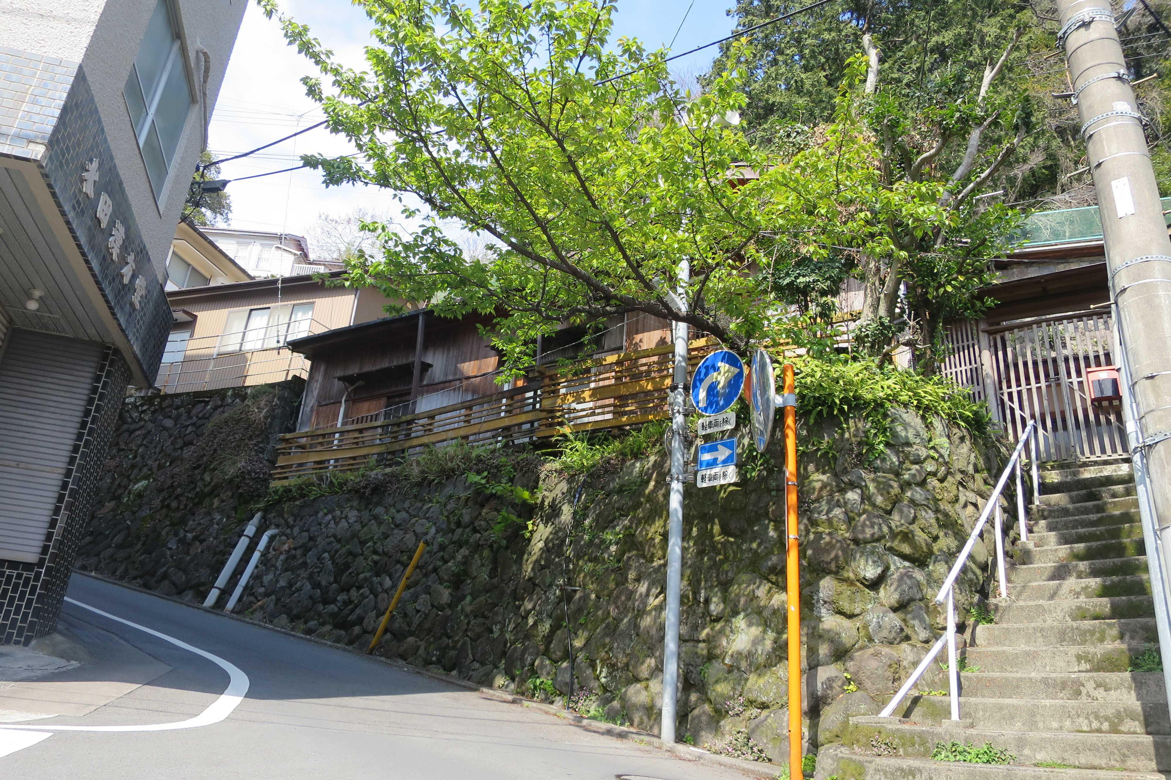 熱海 - 宮坂を登り切ると来宮神社がある