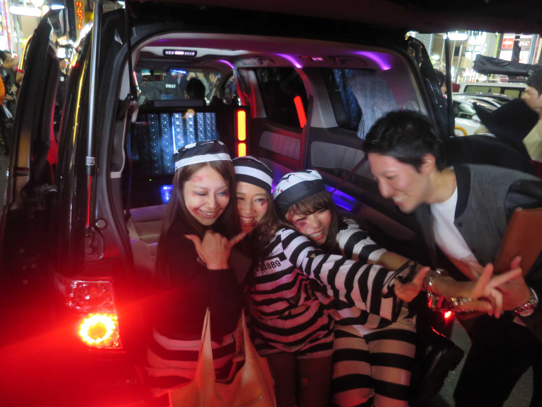 渋谷ハロウィーン - クラブと化した渋谷