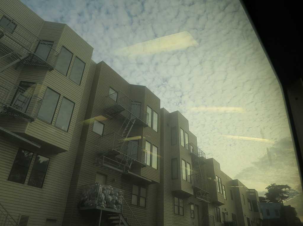 サンフランシスコ - BART/バートの車窓