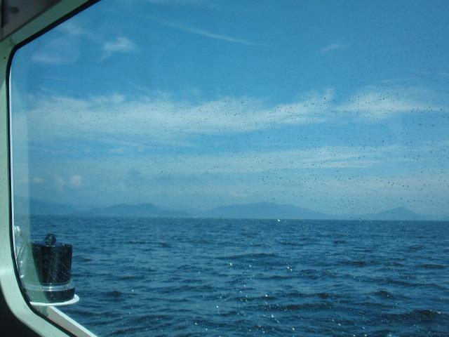 ひろしま世界遺産航路から見える瀬戸内海